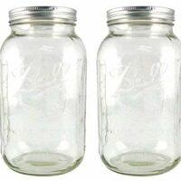 Ball Half-Gallon Jars, Wide Mouth, Set of 2