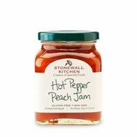 Stonewall Kitchen Hot Pepper Peach Jam, 11.25 Ounce
