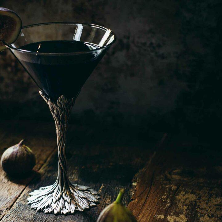 Black Fig Vodka Martini