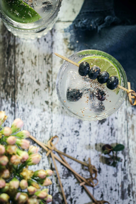 Blueberry Buck Cocktail Recipe