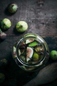 Fig Infused Vodka for a Fruity Vodka Drink