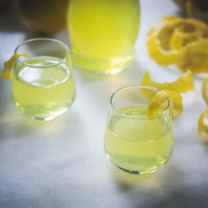 Limoncello shots recipe
