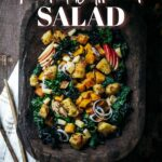 Roasted Butternut and Kale Salad
