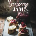 Cranberry-jalapeno jam recipe