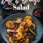Date and Orange side dish with jalapenos
