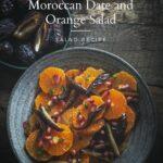 Orange and Date Salad recipe