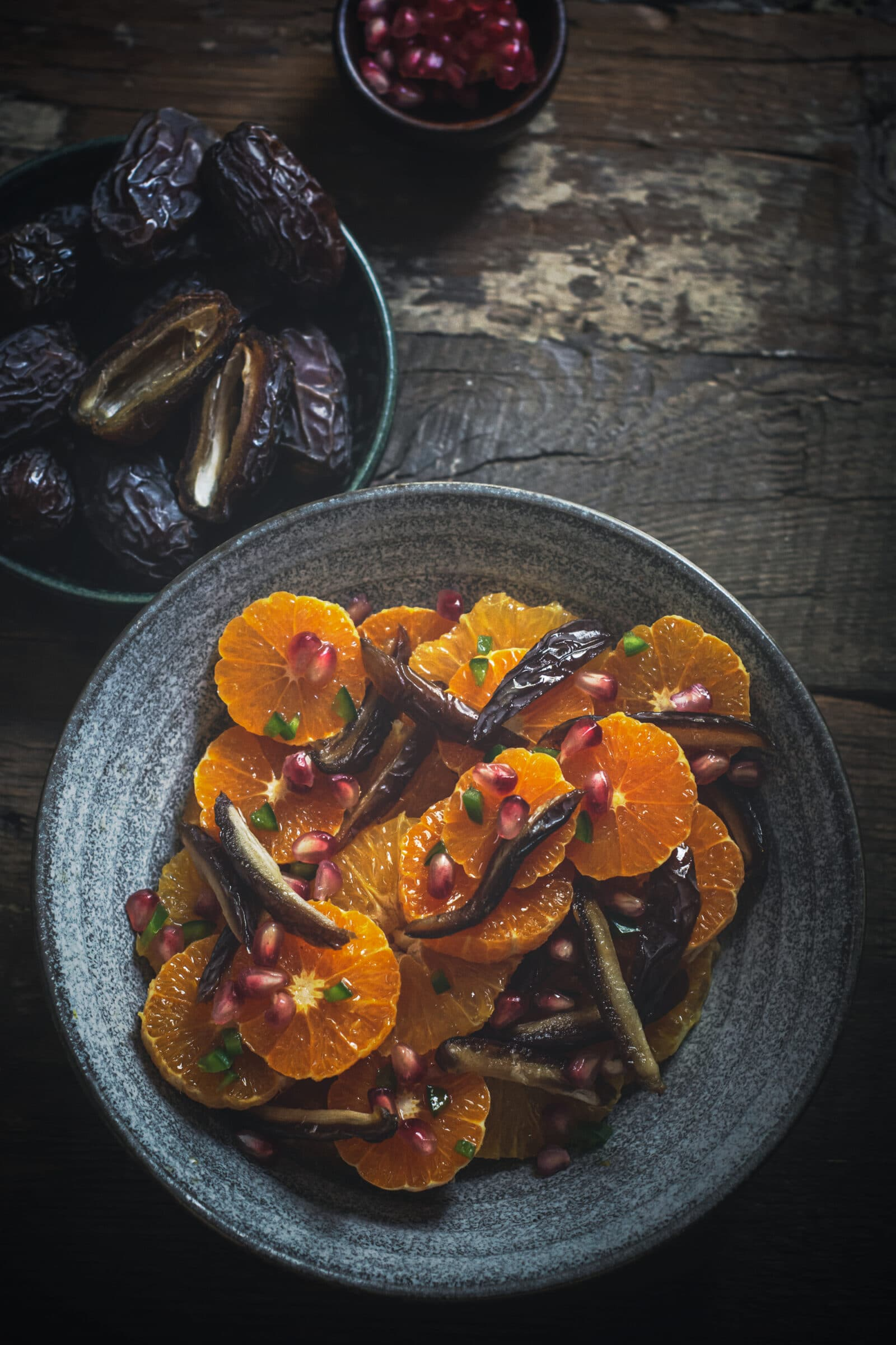 Moroccan Inspired Date and Orange Salad