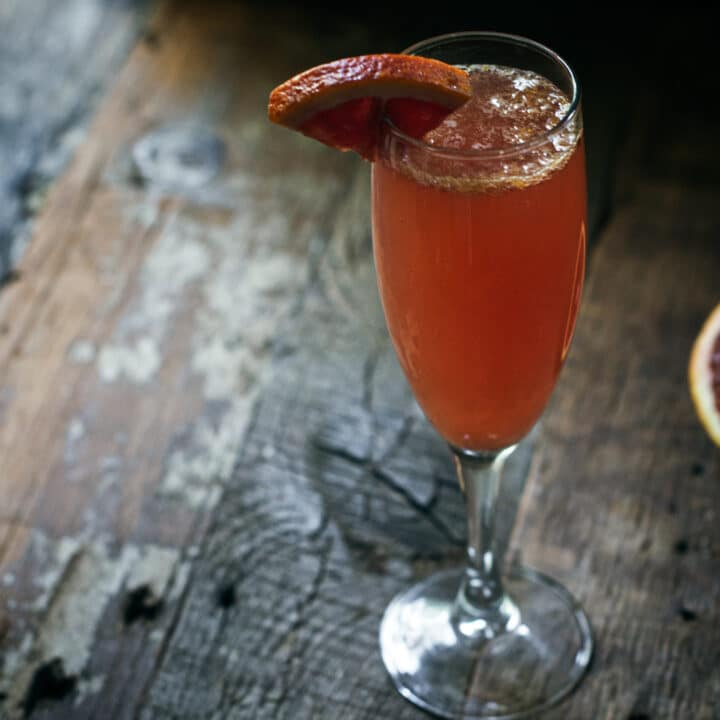 Garnished Bellini Recipe