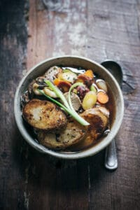 Potato Mushroom Chicken Hot Pot