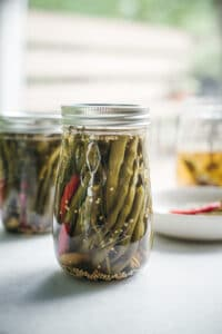 Preserves: The Best Spicy Mixed Dilly Beans Recipe