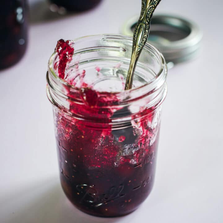 Fig Jam with Red Wine