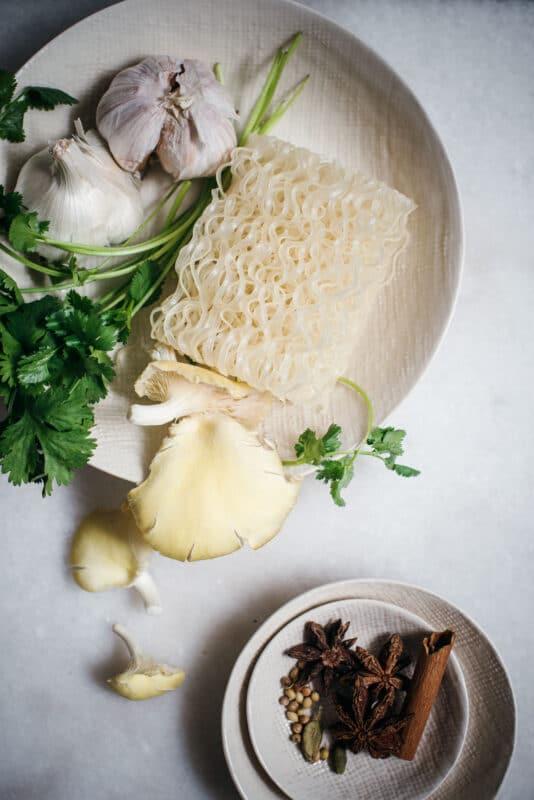 Ingredients for Pho Broth