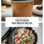 Easy to make vegetarian pho broth