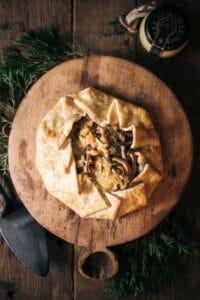 Easy to Make Prosciutto Dijon and Gouda Galette Recipe