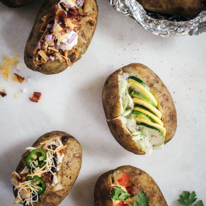 Baked Potato Bar Topping Ideas