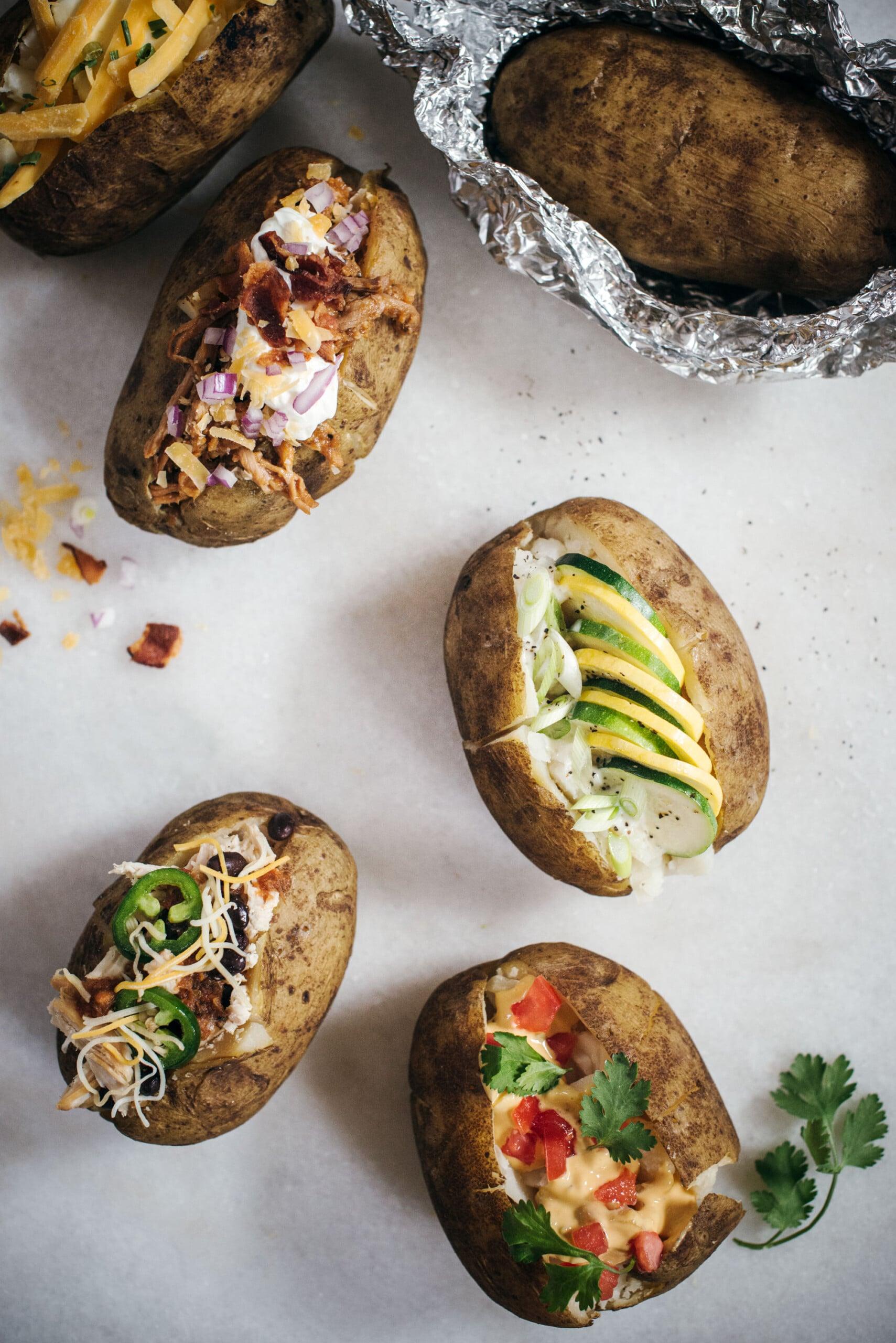 How To: Baked Potato Bar Ideas
