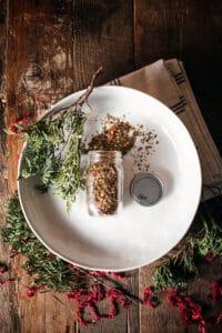 Gift Giving Ideas: Easy Dried Herb Bruschetta Mix Recipe