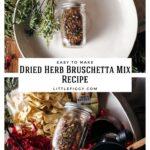 Bruschetta Spice Blend Recipe