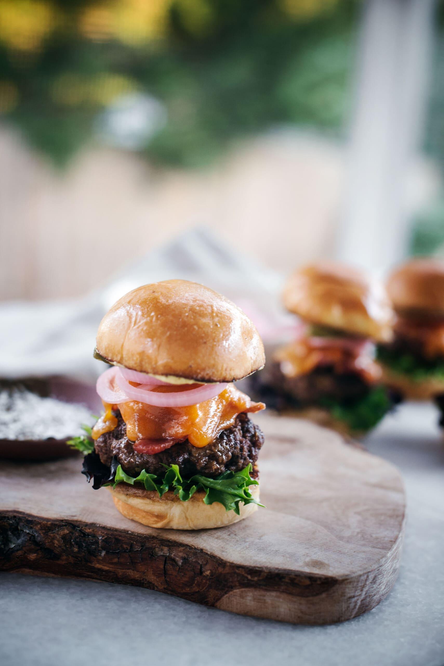 Easy to Make Tailgate Food Ideas: Mustard Burger Sliders