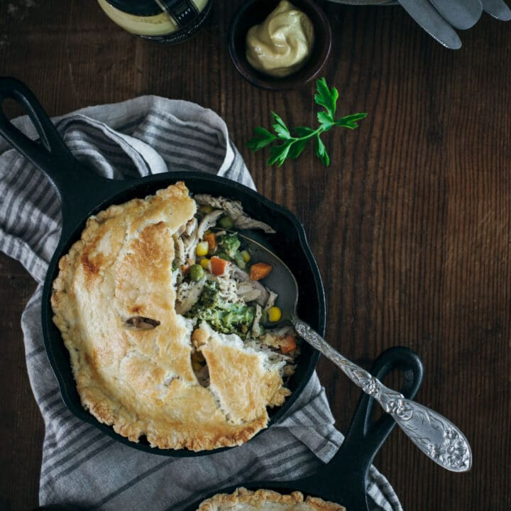 personal chicken pot pies