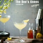 Easy to make drink: The Bee's Knees Cocktail