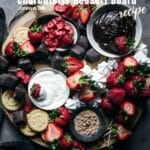 How to Build Strawberries and Cream Charcuterie Dessert Board