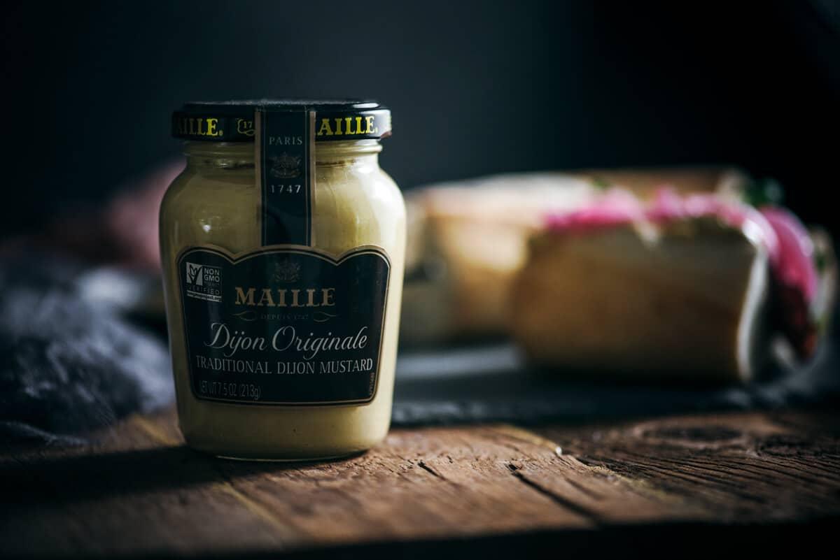 Maille Dijon Originale Mustard jar