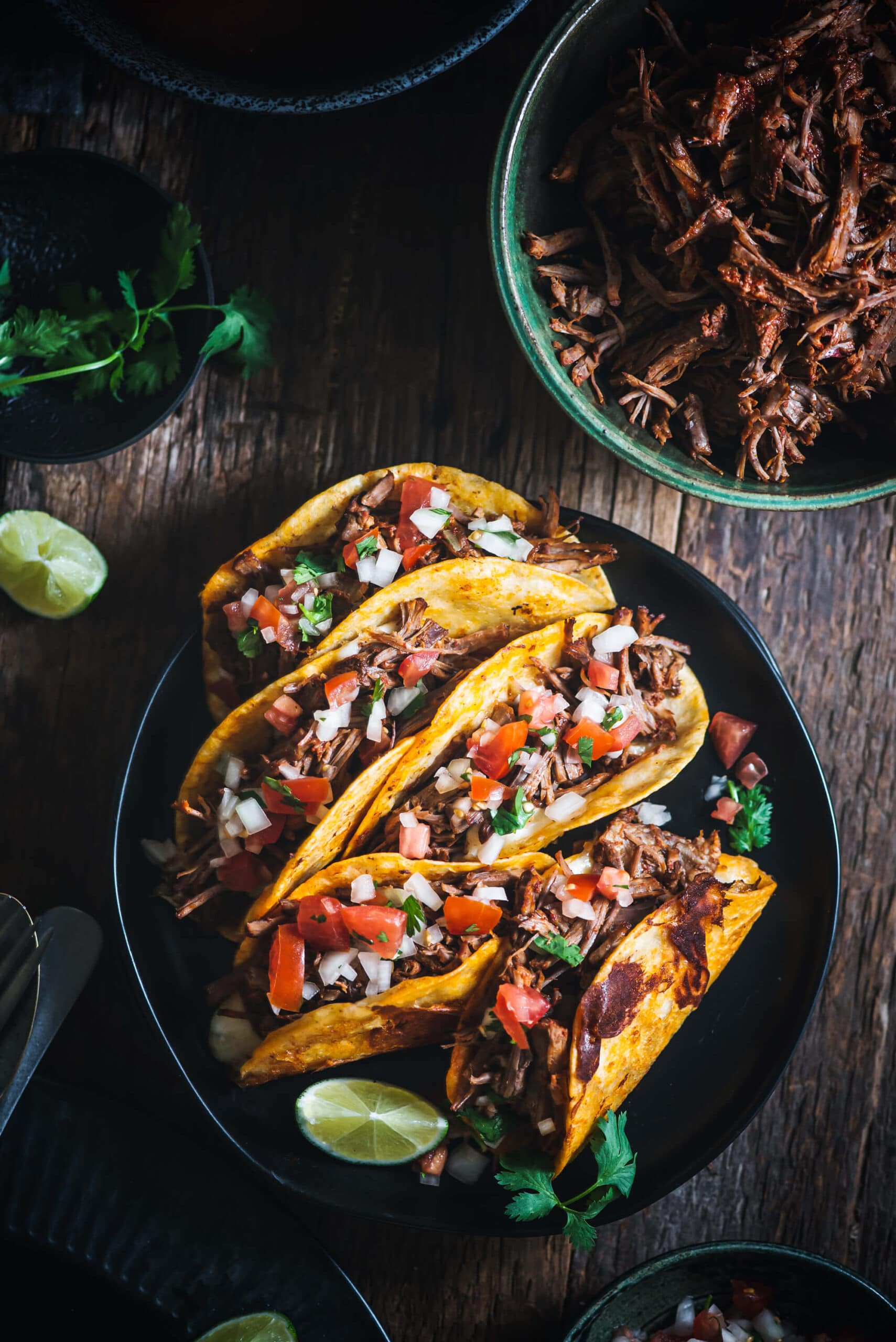 Birria Tacos recipes - beef quesatacos