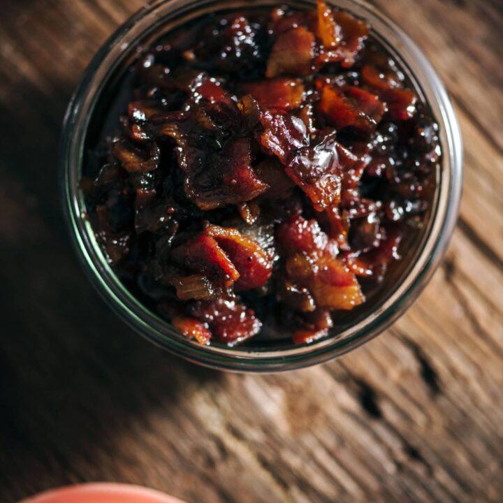 Bacon Onion Chutney Jam