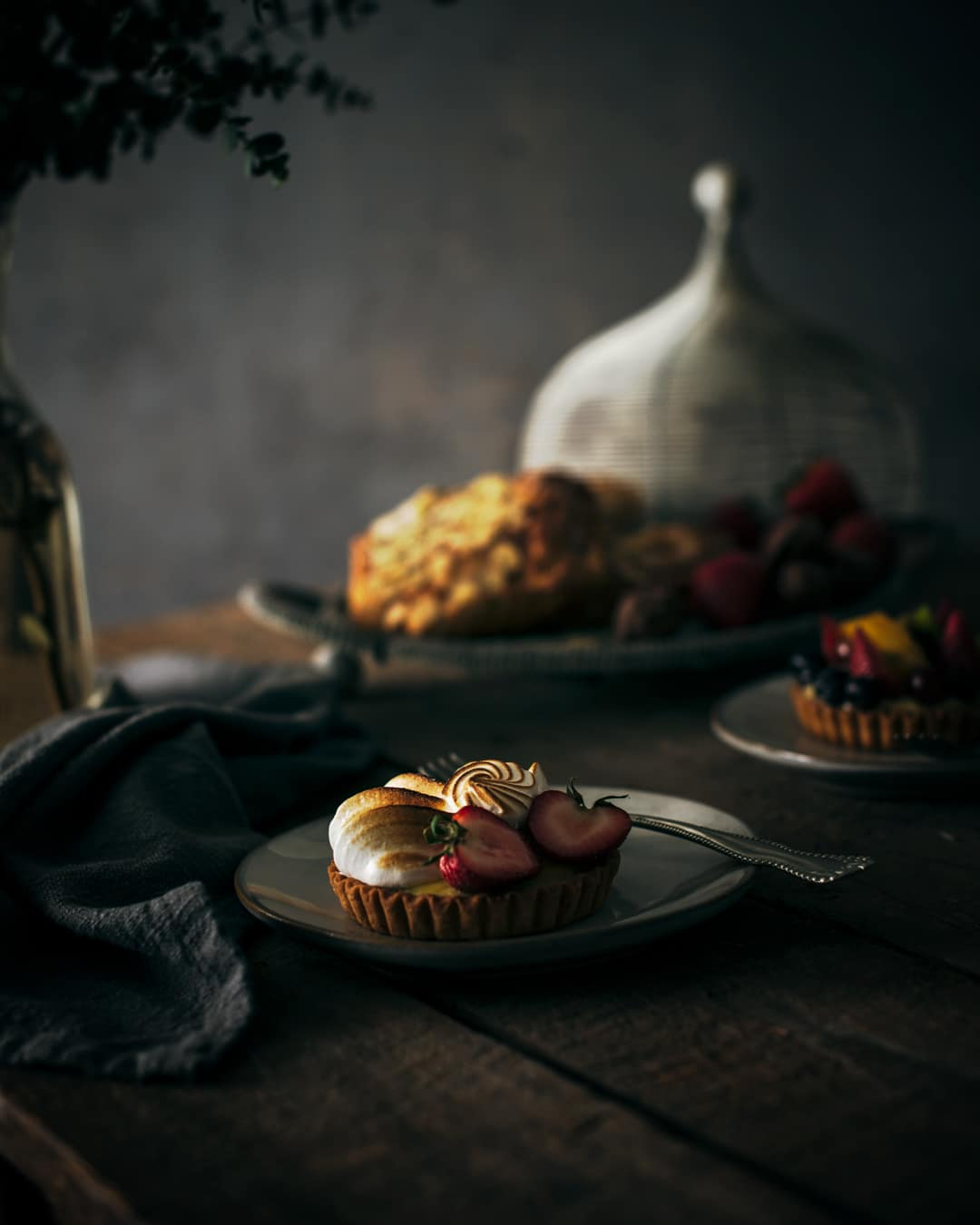 French pastries for breakfast